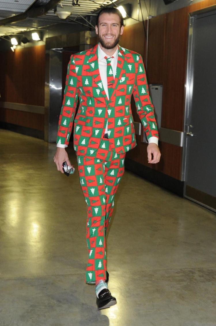 Men Ugly Christmas Dress Shoes